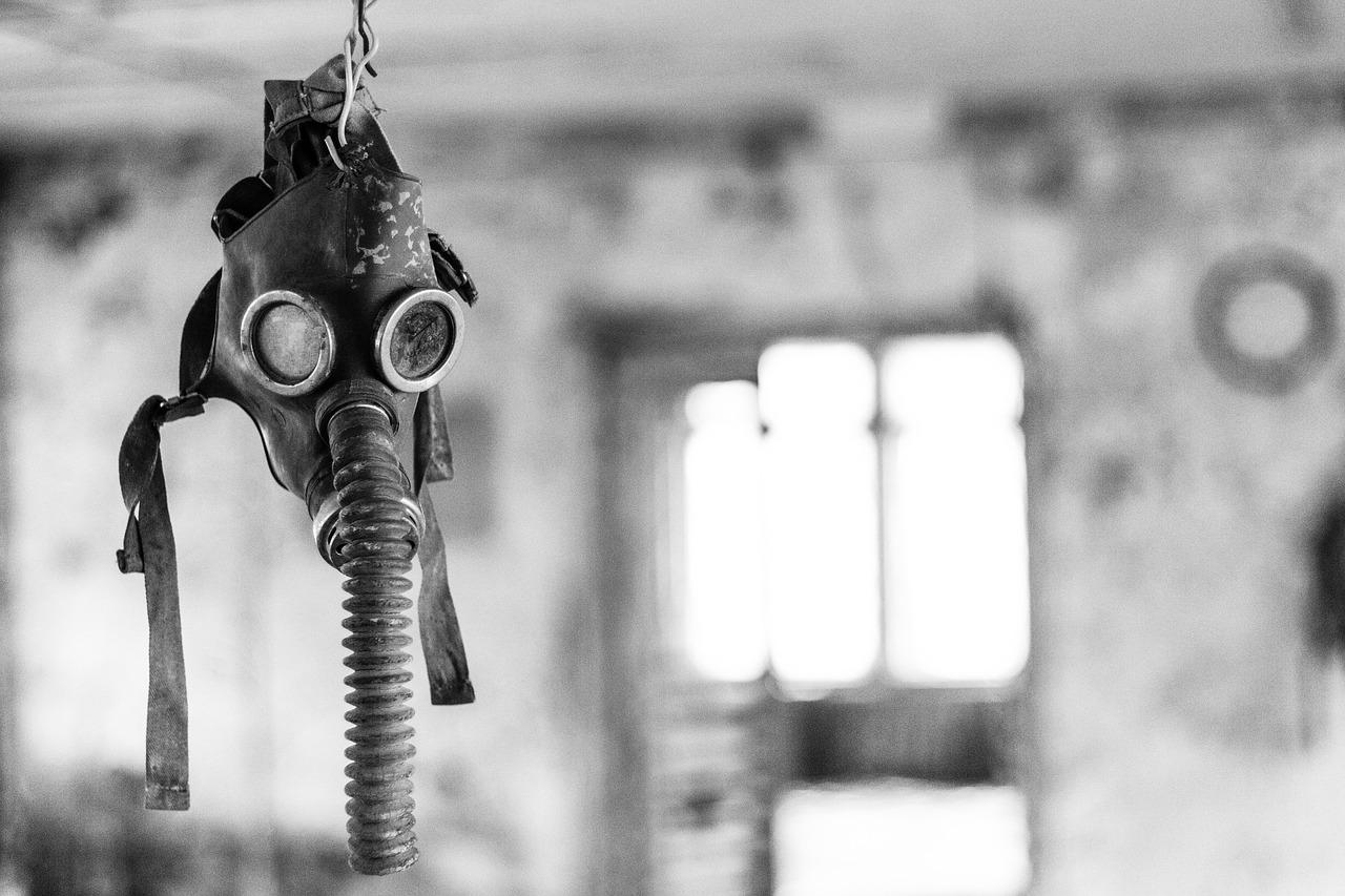 Tschernobyl Gasmask